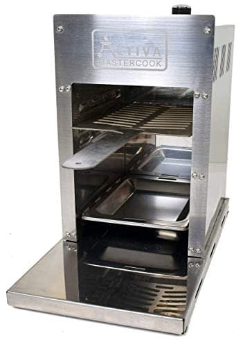 ACTIVA 800° Oberhitzegrill Gasgrill Grill Steakgrill 4,2 kW Edelstahl, Easy Clean - 5
