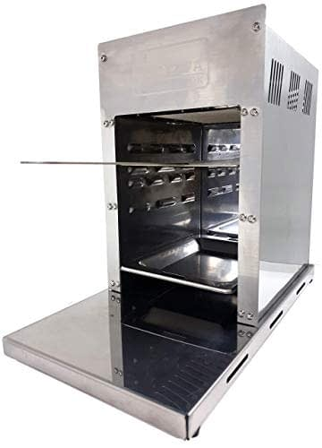 ACTIVA 800° Oberhitzegrill Gasgrill Grill Steakgrill 4,2 kW Edelstahl, Easy Clean - 1