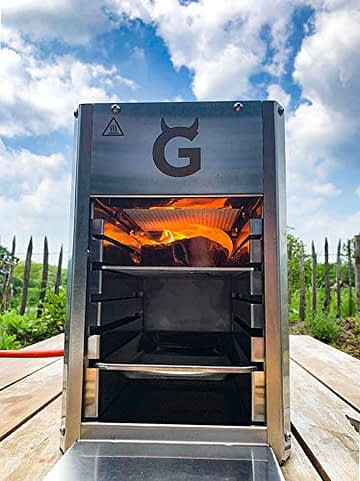 GARWERK 800 Plus ONE Hochleistungs-Oberhitze-Gasgrill - 8