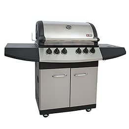 Mayer Barbecue ZUNDA Gasgrill MGG-341 Pro mit Backburner - 1