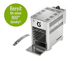GARWERK 800 Plus ONE Hochleistungs-Oberhitze-Gasgrill - 11
