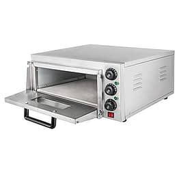 Summile WY1-1 pizza oven electric 2.2KW 220V professional Pizzaofen 350℃ pizza maker oven ofen 56 x 52x 29cm Einzelregal Pizza Drawer - 1