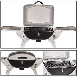 DRULINE Sale 50mbar GASGRILL Grill BBQ Tischgrill Camping Gas Grill Klappgrill - 1