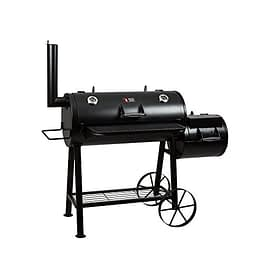Mayer Barbecue RAUCHA Longhorn Smoker MS-500 Master | Holzkohlegrill - 1